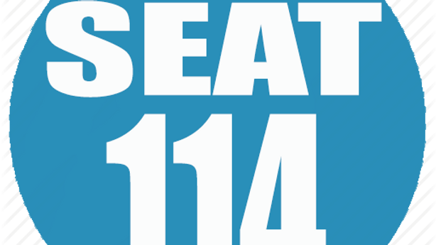 RESERVED SEAT 114