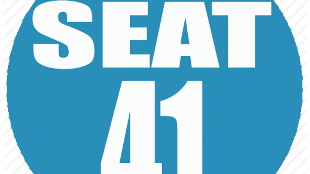 RESERVED SEAT 41
