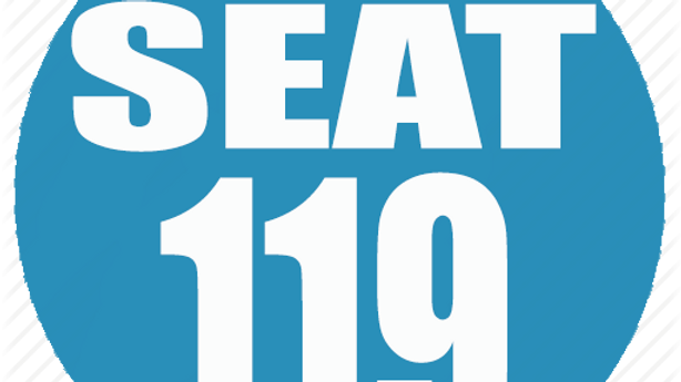 RESERVED SEAT 119