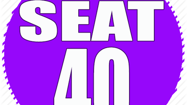 RESERVED SEAT 40