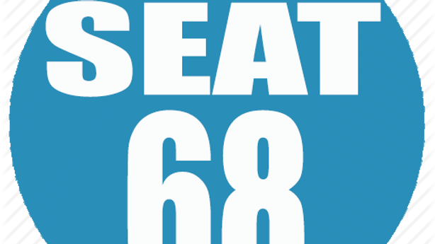 RESERVED SEAT 68