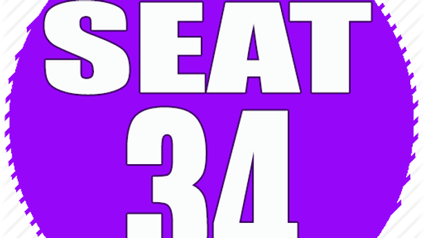 RESERVED SEAT 34