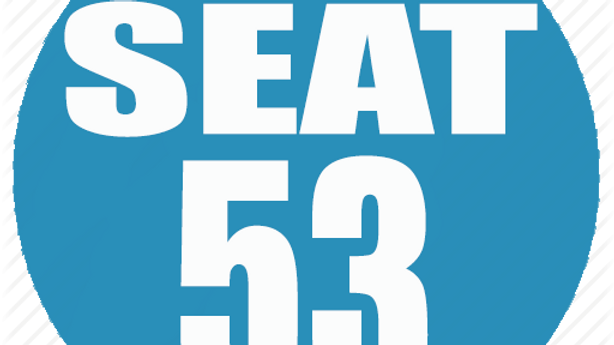 RESERVED SEAT 53