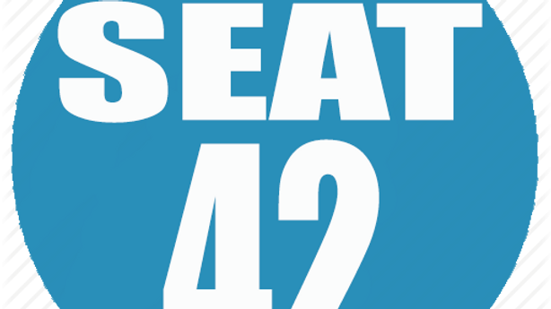 RESERVED SEAT 42
