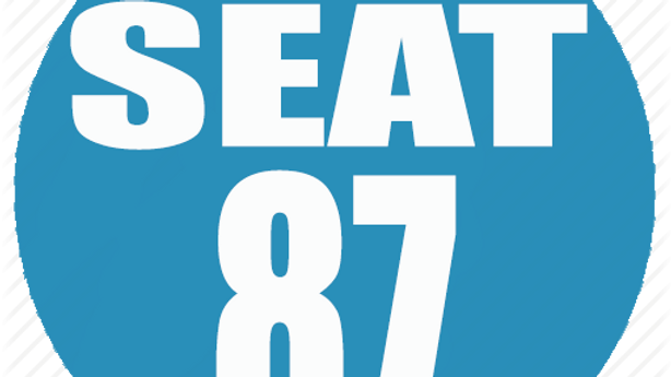 RESERVED SEAT 87