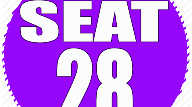 RESERVED SEAT 28