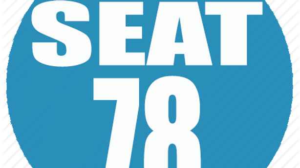 RESERVED SEAT 78