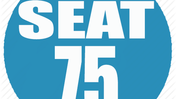 RESERVED SEAT 75