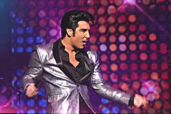PICTURE FROM THE ELVIS LIVES TOUR