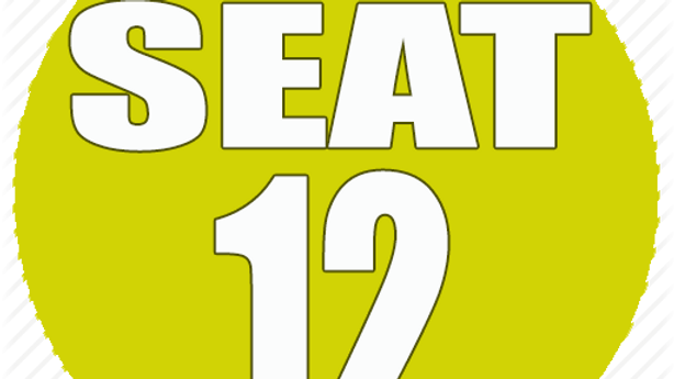 RESERVED SEAT 12