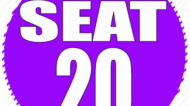 RESERVED SEAT 20