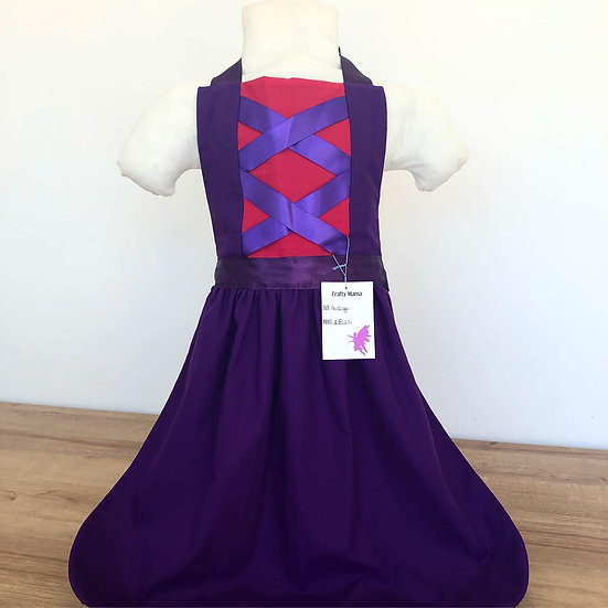 Princess apron 4-5yo