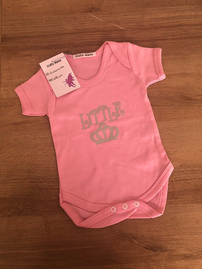 Personalized bodysuit girl 0-3 months