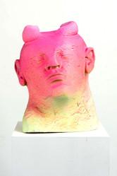 Untitled (head with horns, season self)