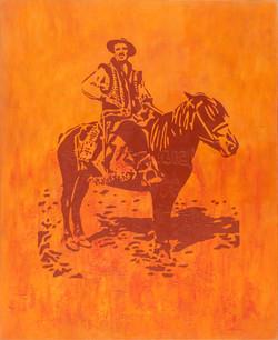 Hutsul on horse