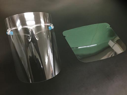 PETフェイスシールド 眼鏡タイプ