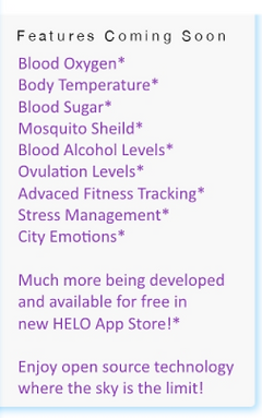 Helo features coming soon!