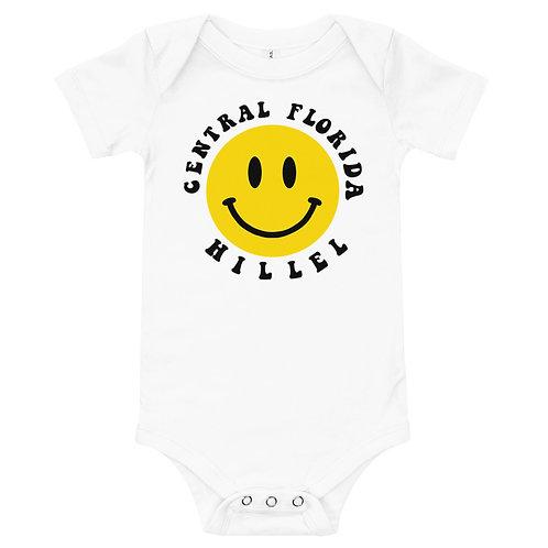 Smiley Face Hillel Onesie