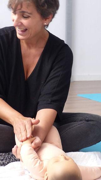 masaje infanil