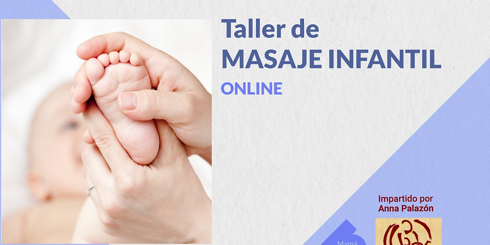 CURSO MASAJE INFANTIL  en grupo online