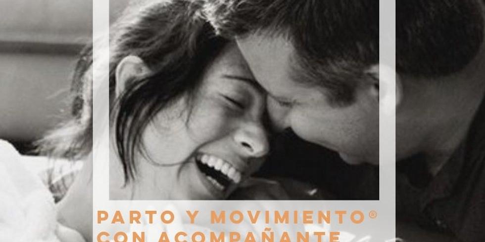 PARTO Y MOVIMIENTO® CON ACOMPAÑANTE, QUEDAN DOS PLAZAS!!