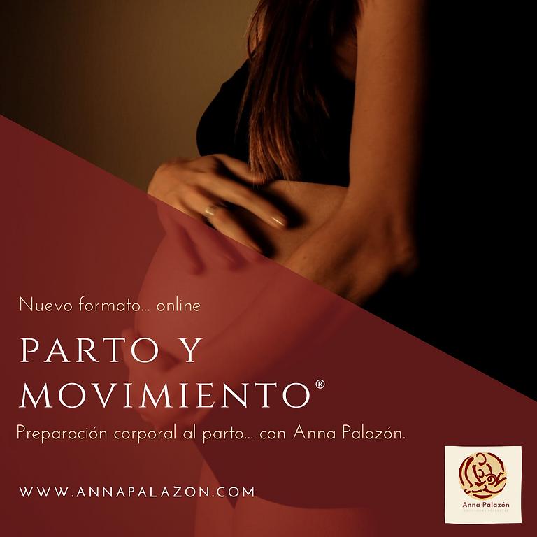 ONLINE  Privado! Parto y Movimiento®  INTENSIVO
