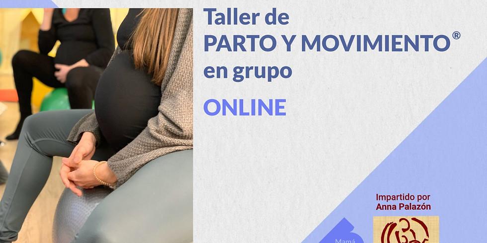 """Método """"Parto y movimiento®"""", online. EN GRUPO"""