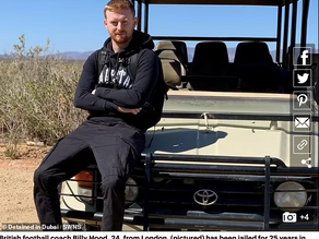 British man jailed for 25 years in Dubai for cannabis vape oil.