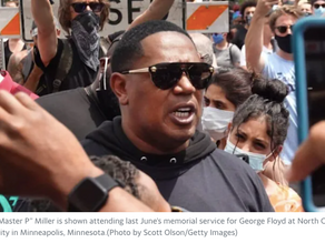 Master P leads 'Cannabis Freedom Day' march to protest marijuana convictions