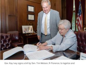 Gov. Kay Ivey signs Alabama's medical marijuana bill