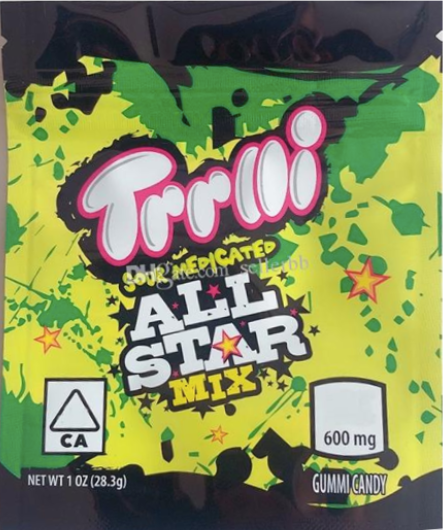 TrrlliAll Star (Sour Medicated) Mix
