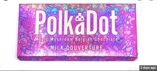 Polk a Dot Mushroom Belgian Chocolate