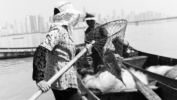 """Hangzhou, China  <Workers of the World> The people who prop up any given society are the ones that we rarely give thanks to.       """"No society has any right to forget its workers, because they are the real heroes of the society.""""                                           - Mehmet Murat Ildan"""