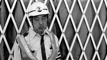 "Tokyo, Japan  <Workers of the World> The people we look to to prop up any given society are the very ones that we rarely even see.       ""No society has any right to forget its workers, because they are the real heroes of the society.""                                           - Mehmet Murat Ildan"