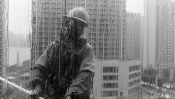 """Hangzhou, China  <Workers of the World> The people we look to to prop up any given society are the very ones that we rarely even see.       """"No society has any right to forget its workers, because they are the real heroes of the society.""""                                           - Mehmet Murat Ildan"""