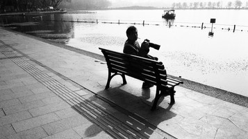 """""""I feel it is the heart. Not the eye. That should determine the content of the photograph. What the eye sees is its own. What the heart can perceive is a very different matter.""""  - Gordon Parks"""