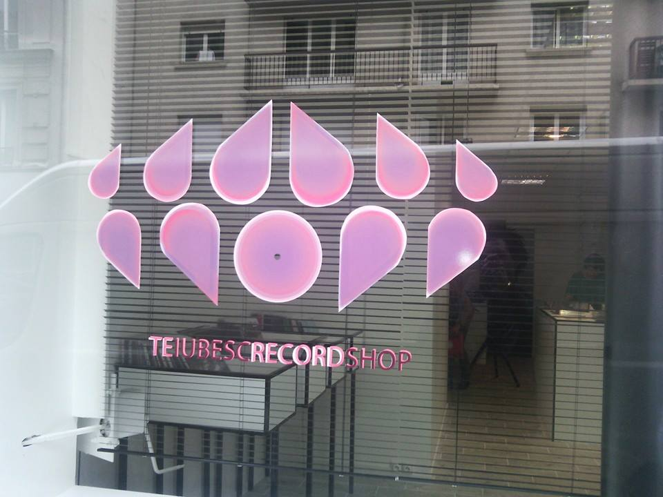 te iubesc record shop paris