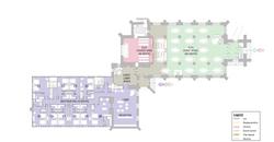 Second Floor Vestry & Ground Floor Churc