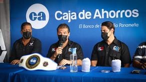 """Caja de Ahorros, el Banco Oficial del Deporte en Panamá respalda """"Guantes de Acero"""""""