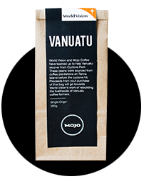 MOJO, Vanuatu coffee project with World Vision