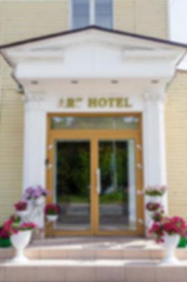 главный вход Art Hotel