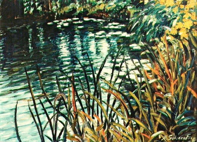 Lily Pads on the Pond, Nuns' Island