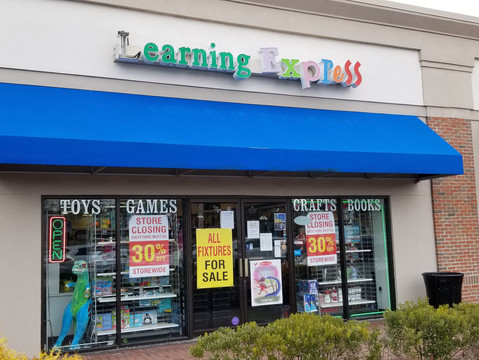 Learning Express, Blue Bell to Close