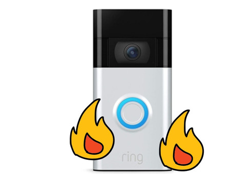 Your Ring Doorbell is Fire, Literally. Recall issued