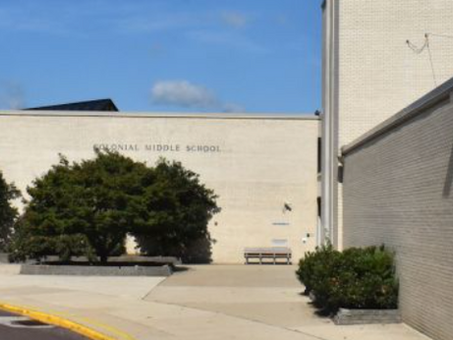 Colonial Middle School Ranked #49 in the State, Says U.S. News & World Report's