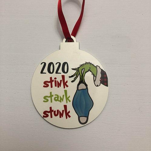 2020 Grinch Stink, Stank, Stunk Ornament