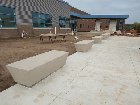 Updated Pictures of Colonial Middle School Project