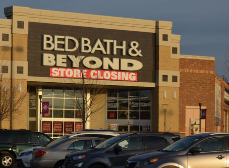 Bed Bath & Beyond in the Metroplex Closing, the Only Location in PA to do so.