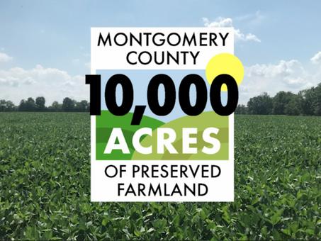Montgomery County Preserves 10,000 Acres of Farmland