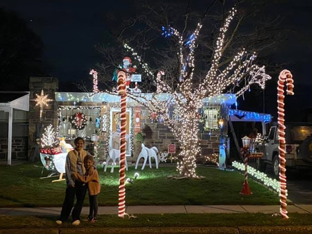 Want to See All The Plymouth Holiday Light Entries?  We Mapped Out The Most Efficient Route